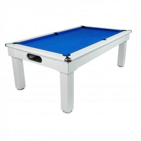 Billard anglais table Milano Blanc