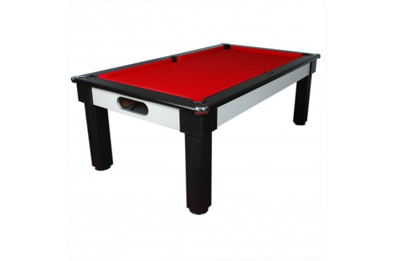 Billard anglais table Milano Noir / Gris