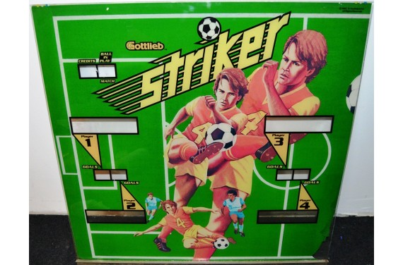 Backglass Gottlieb Striker